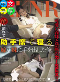 對喝醉酒在副駕駛座睡著的妻子的妹妹下手的我
