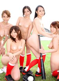 「中出JAPAN~壘球部集訓合宿 前篇~」 + 「壘球部特別合宿