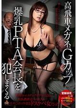 戴著眼鏡的G罩杯爆乳PTA會長被侵犯 宮部涼花