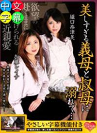 超美熟母與嬸嬸 堀口奈津美 加藤レイナ