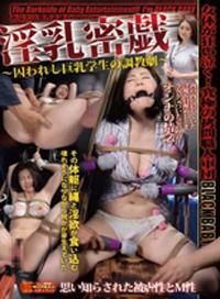 淫乳密戯 被囚禁的巨乳學生的調教劇 秋元詩織