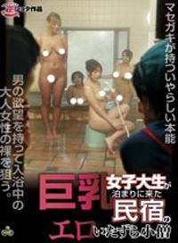 巨乳女大學生在借宿的民宿中的性愛遊戲
