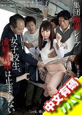 強姦淩辱女學生 電車上愛愛不止 鈴音りん 二宮ナナ
