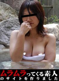 平時防線緊繃的人妻到了溫泉之後就變開放了!?混浴露天